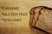 picture of whole-wheat  - whole wheat bread with organic gluten free and non - JPG