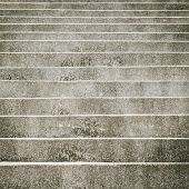 picture of stepping stones  - gray stone stair step abstract background pattern - JPG