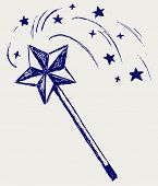 stock photo of magic-wand  - Magic wand - JPG