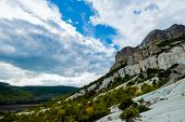 foto of eminent  - The rocks are in the valley of the Crimea - JPG