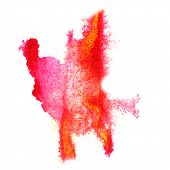 stock photo of insults  - Abstract watercolor pink - JPG