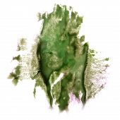 picture of insults  - Abstract dark green watercolor hand painted background insult Rorschach psychology - JPG