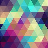 pic of parallelepiped  - Triangle background - JPG