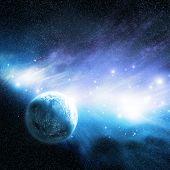 Nebulosa do & do planeta