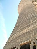 Side Of Cooling Tower