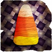 Halloween Candy Corn Degraded