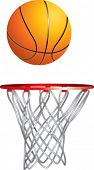 basketball and hoop