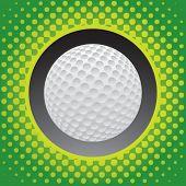 halftone golf ball