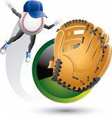swooshing baseball man