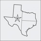 texas icon sketch