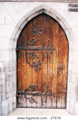 Picture Or Photo Of Christ Church Door Gothic Architecture
