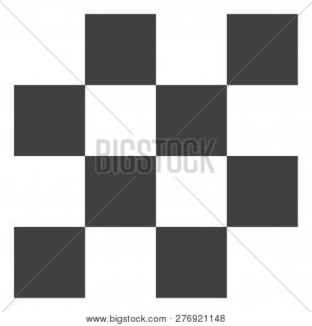 Chess Cells Vector Icon Symbol