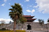 Dali Ancient City Gate Tower