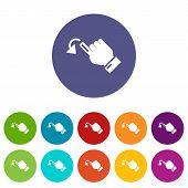 Cursor Movement Icon. Simple Illustration Of Cursor Movement Icon For Web poster