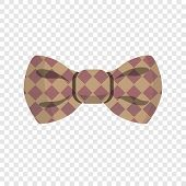 Elegant Bow Tie Icon. Cartoon Of Elegant Bow Tie Vector Icon For Web Design For Web Design poster