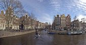 Amsterdam cityview at Brouwersgracht - Keizersgracht in the Netherlands