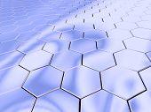 Chrome Hexagon Space