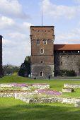 Tower Of Wawel Castle. Krakow. Poland. Medieval History Memorial poster