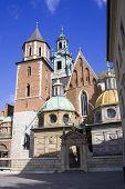 Wawel Castle. Krakow. Poland. Medieval History Memorial poster