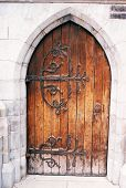 Christ Church Door
