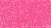 Cute Hearts. Background With Small Hearts. Pattern With A Lot Small Pink Hearts On Pink Background.  poster