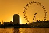 The London Eye Skyline
