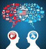 Usa Political Elections Social Discussion