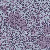 Floral-decorative-pattern