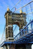 Roebling ponte - Cincinnati, OH