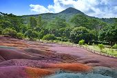 pic of chamarel  - Main sight of Mauritius - JPG