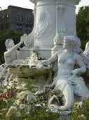 Joyce Kilmer Park Statue Near Yankee Stadium Dscn2502