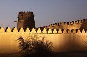 Al Jahili Fort In Al Ain, UAE