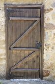 Old Traditional Wooden Door