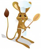 Jerboa Chef With Spoon