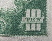 Ten 10 Dollars Us Currency