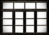 Old Wooden Barn Grunge Windows
