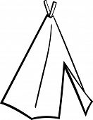 native american tepee tent