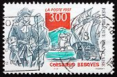 Postage Stamp France 1997 Basque Corsairs