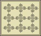 Vintage Cross Muster