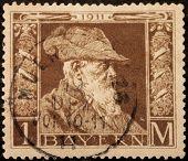 Bavaria 1911 Stamp