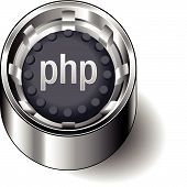 Rubber-button-round-document-file-type-php