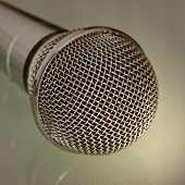 Microphone Taken Closeup.