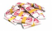 Yuan Notes Scattered Pile