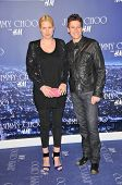 Alice Evans and Ioan Gruffudd at the Jimmy Choo For H&M Collection, Private Location, Los Angeles, C