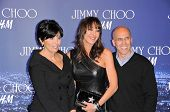 Marilyn Katzenberg, Tamara Mellon and Jeffrey Katzenberg  at the Jimmy Choo For H&M Collection, Priv