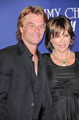 Harry Hamlin and Lisa Rinna at the Jimmy Choo For H&M Collection, Private Location, Los Angeles, CA. 11-02-09