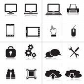 Computer Icons: Laptop, Monitor, Cloud Technology