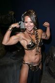 Milan Lavelle at the LeiasMetalBikini 10th Anniversary Celebration at Gentle Giant Studios, Burbank, CA 05-25-12