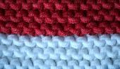 Knitted Flag Of Monaco