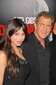 Mel Gibson and Oksana Grigorieva at the